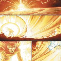 DC Day: Super Flare vs Black Hole