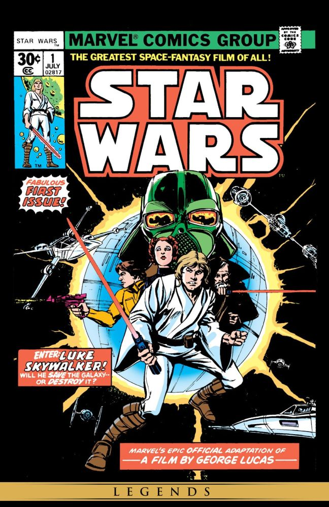'Star Wars #1'. 'The Greatest Space-Fantasy Film Of All!'
