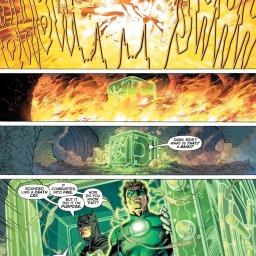 Green Lantern, 'Justice League #1'