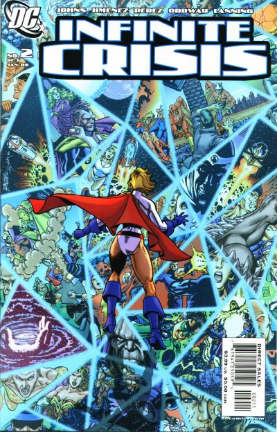 In 'Infinite Crisis' (2006) #2, Power Girl is introduced as a survivor of Earth-2 at the conclusion of 'Crisis On Infinite Earths.'