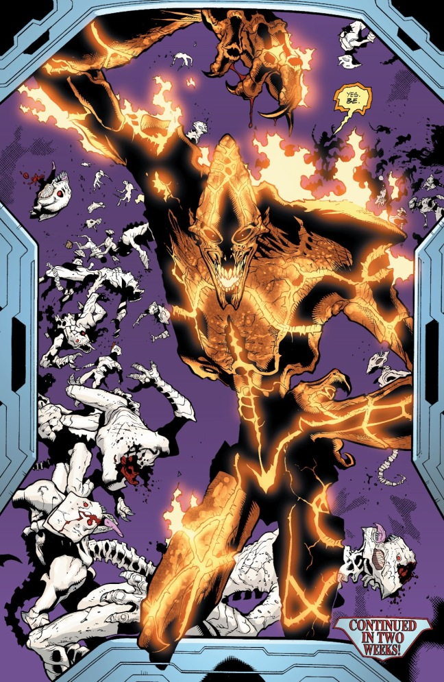 In 'JLA' (2003) #86, Fernus kills several hundreds White Martians in the Phantom Zone in the Fortress of Solitude.