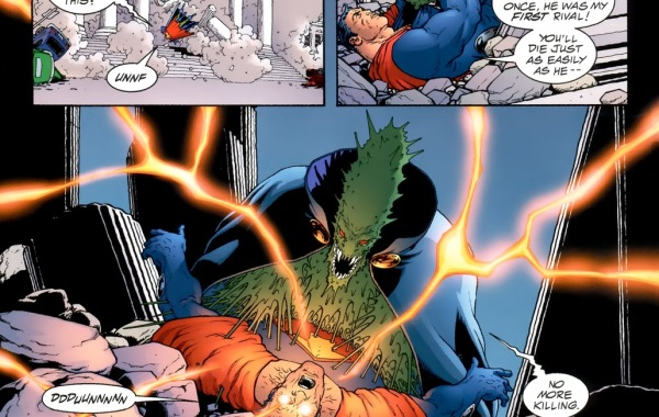 In 'JLA: Earth-2' (2000), Martian Manhunter mind blasts Ultraman to submission.