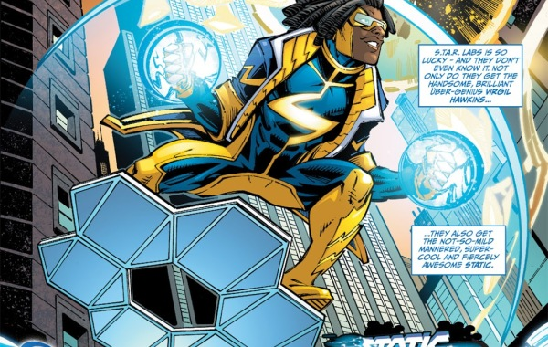 In 'Static Shock' (2011) #1, Static Shock appears on the streets of New York.