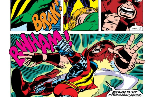 In 'Uncanny X-Men' (1980) #102, Colossus knocks back Juggernaut with a punch.