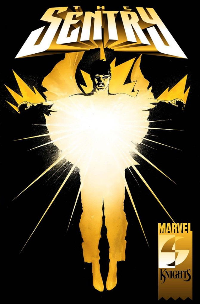 """'Sentry' (2000) #1, titled """"The Suit"""", marks the first appearance of The Sentry in Marvel Comics."""