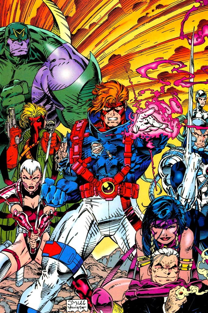 In 'WildC.A.T.s' (1992) #1, we are introduced to the Wild Covert Action Teams.