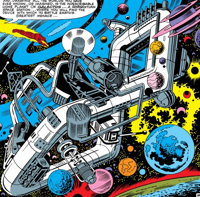 In 'Fantastic Four' (1966) #49, Galactus' Taa II arrives on Earth.