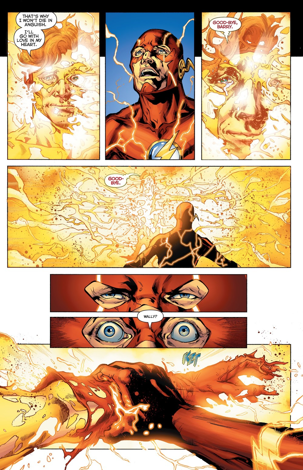 In 'DC Universe: Rebirth,' Barry Allen recognizes Wally West as he is about to vanish from the Speed Force.