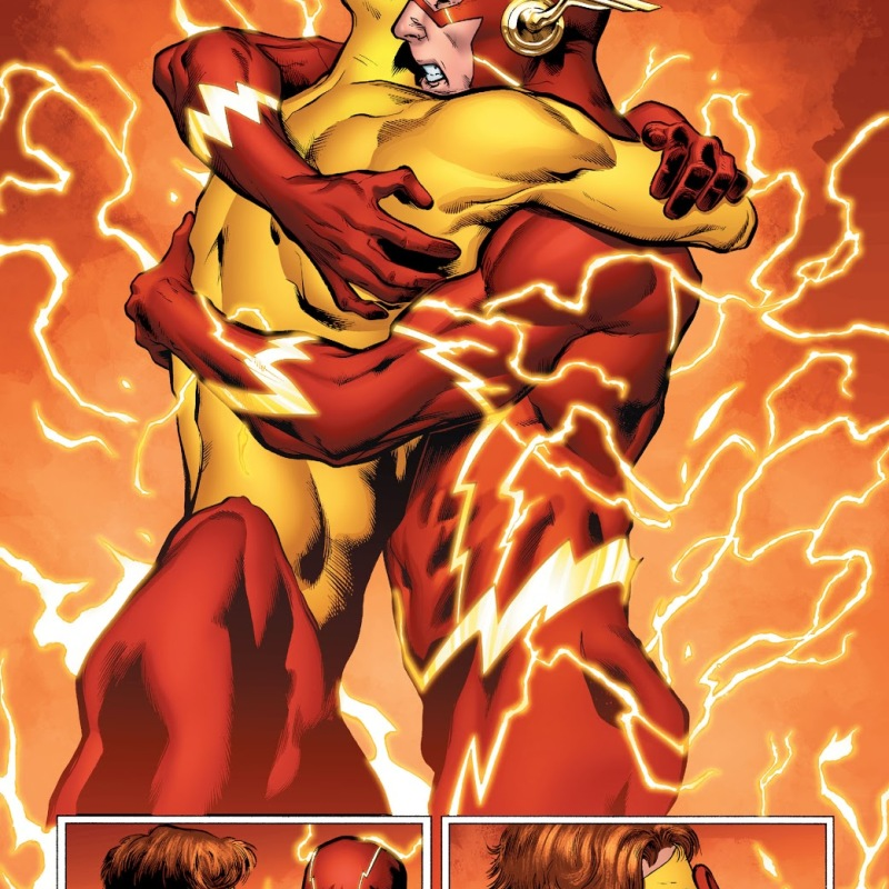 In 'DC Universe: Rebirth,' Barry Allen recognizes Wally West.