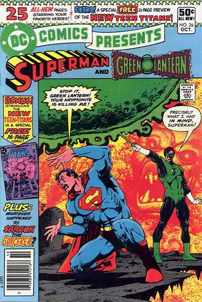 """DC Comics Presents' (1980) #26, titled """"Where Nightmares Begin"""", marks the first appearance of Cyborg in DC continuity."""