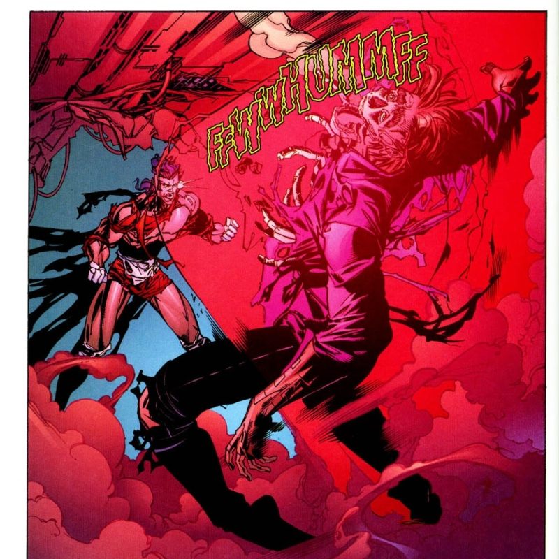 In 'WildC.A.T.s: Covert Action Teams' (1997) #34, Mister Majestic incinerates Tao after surviving Ladytron going nuclear.
